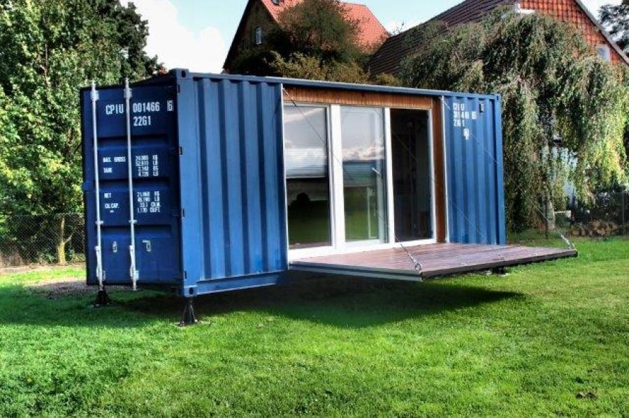 container als gartenhaus umbauen my blog. Black Bedroom Furniture Sets. Home Design Ideas